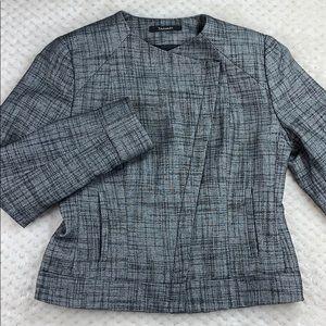 Tahari Moto Style Dress Jacket